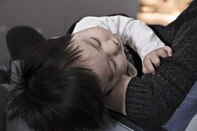 spací dítě