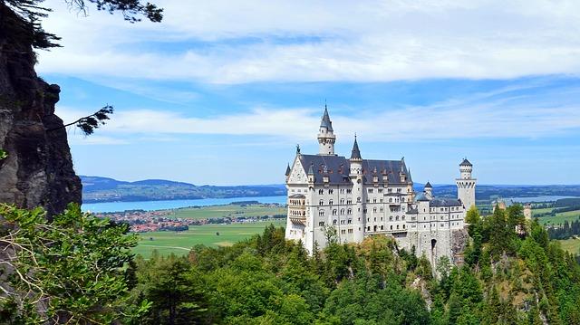 hrad v bavorsku