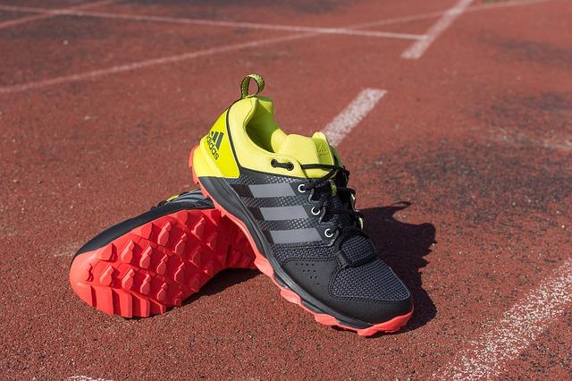 běžecká dráha a boty